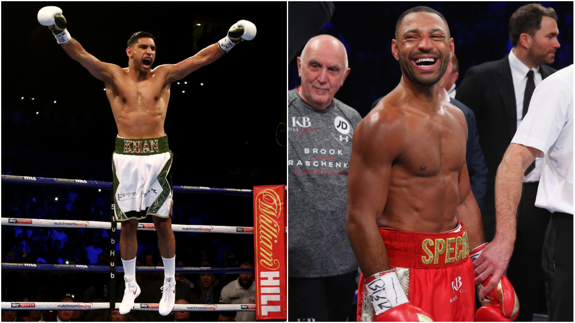 Amir Khan accuses Kell Brook of 'fooling the public'