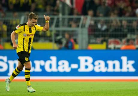 Gotze whistles don't shock Tuchel