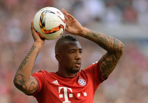 Boateng back in training for Bayern