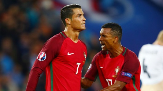Image result for Ronaldo and Nani