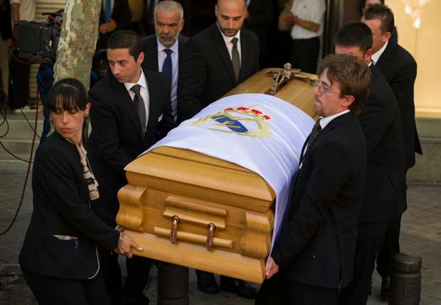 Di Stefano funeral held in Madrid