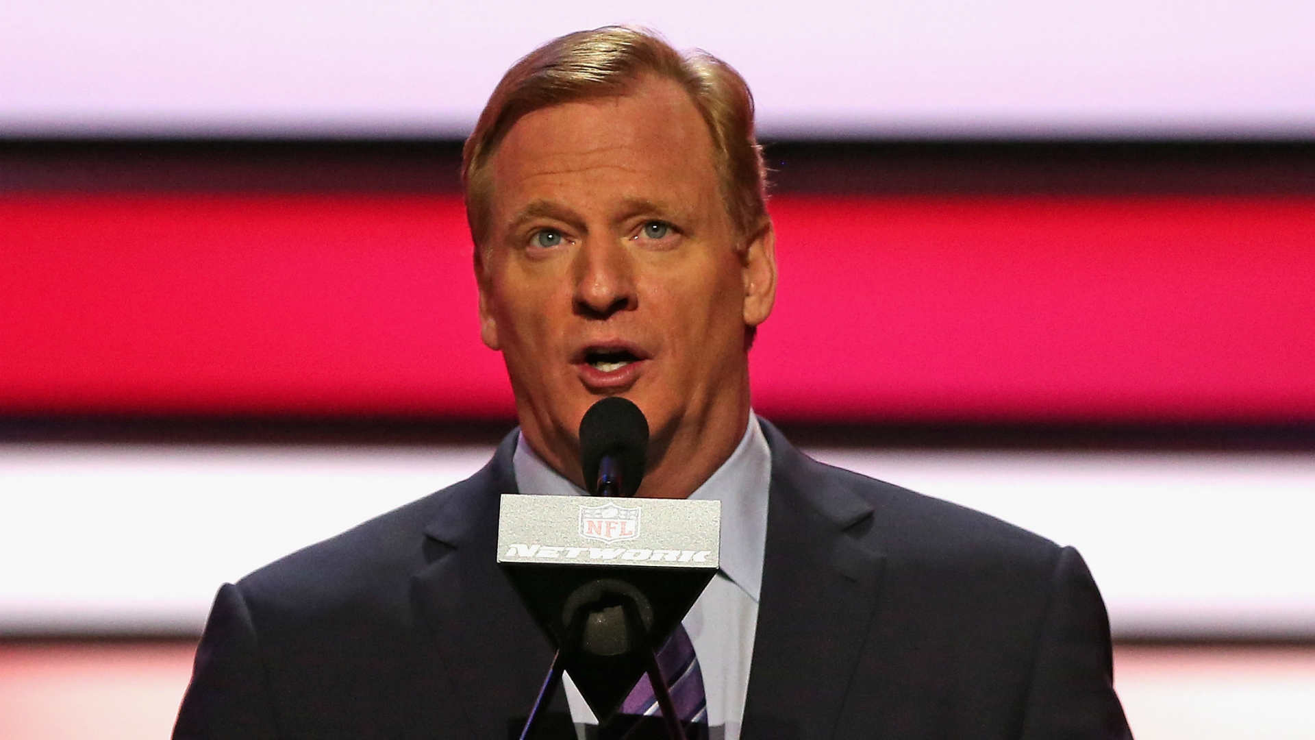 Goodell: Not avoiding going to Pats' home games