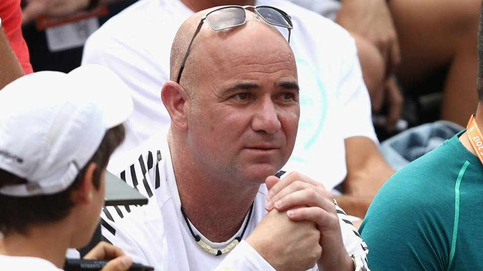 Image result for agassi coaching djokovic