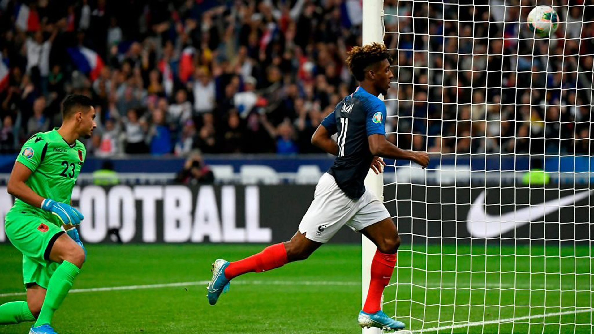 'It's nice to see him on such a level' – Deschamps praises Coman after France brace