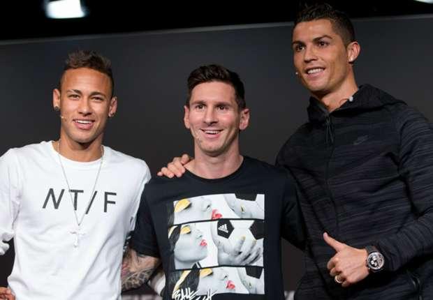 Neymar inspired by 'monster' Ronaldo and 'idol' Messi