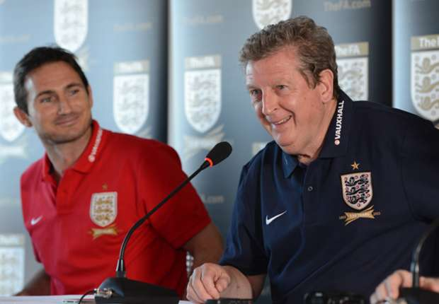 England boss Hodgson pays tribute to Lampard