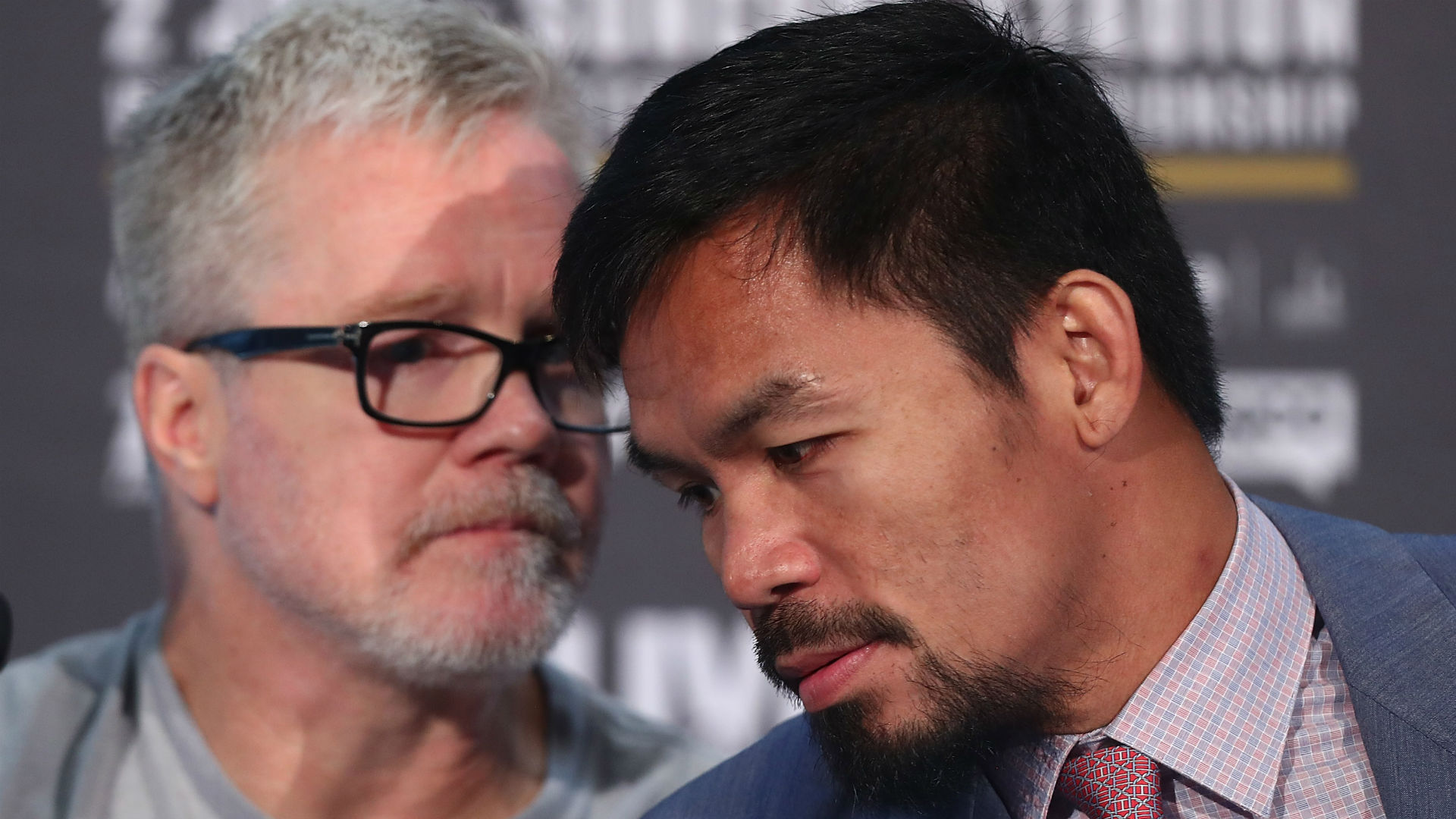 Horn taunts Mayweather after stunning Pacquiao victory