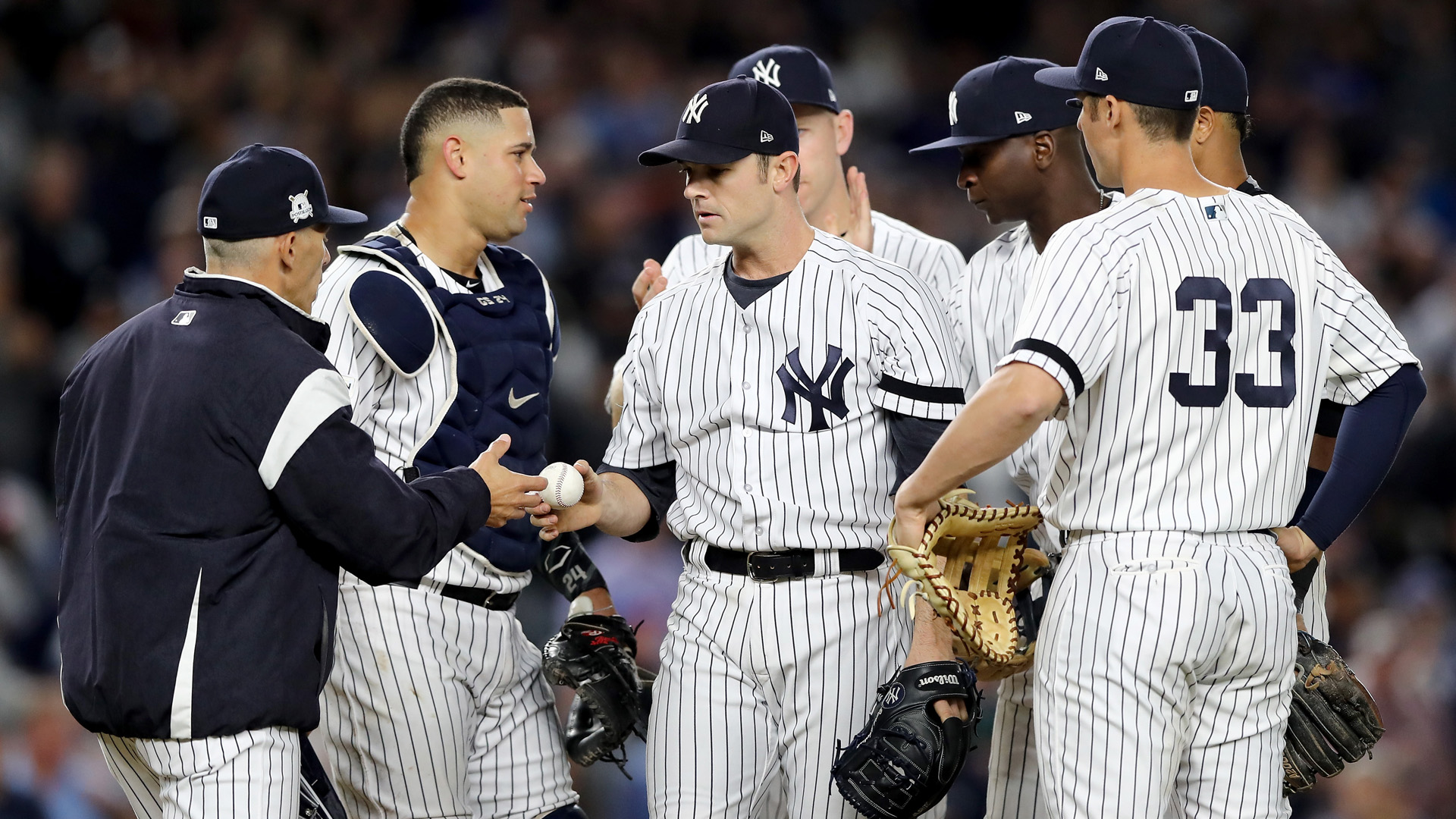 Luis Severino gives Yankees confidence for wild-card game