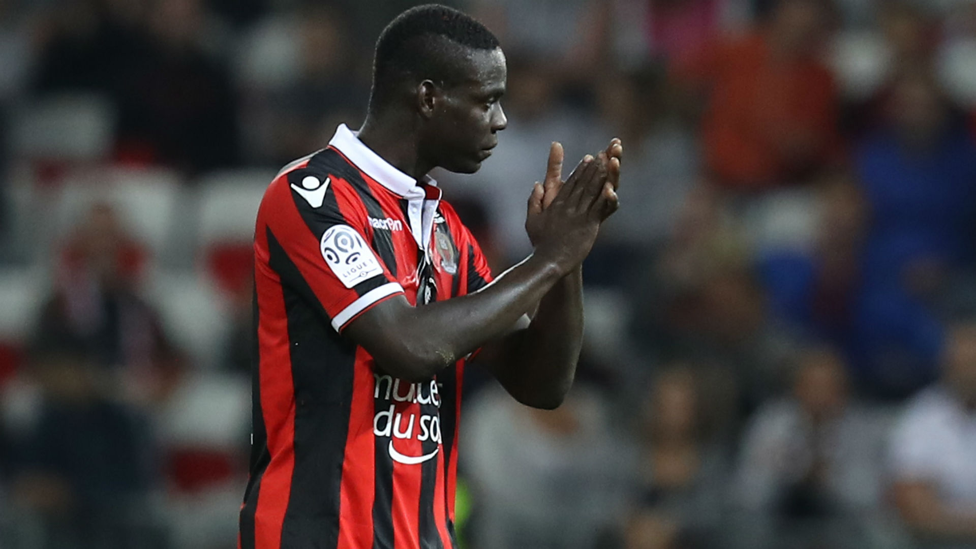 With Mario Balotelli rested, Nice wins anyway to stay top