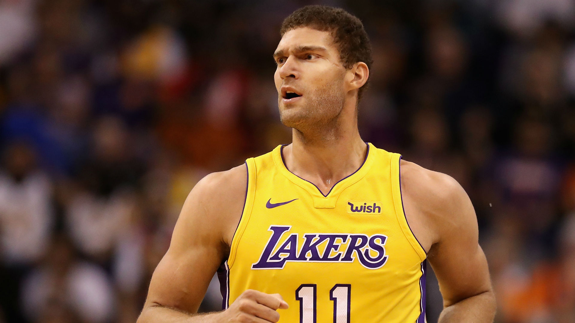 Brook Lopez (ankle) ruled out at least three weeks for Lakers