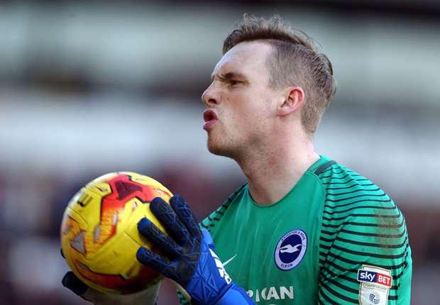 Brighton goalkeeper David Stockdale
