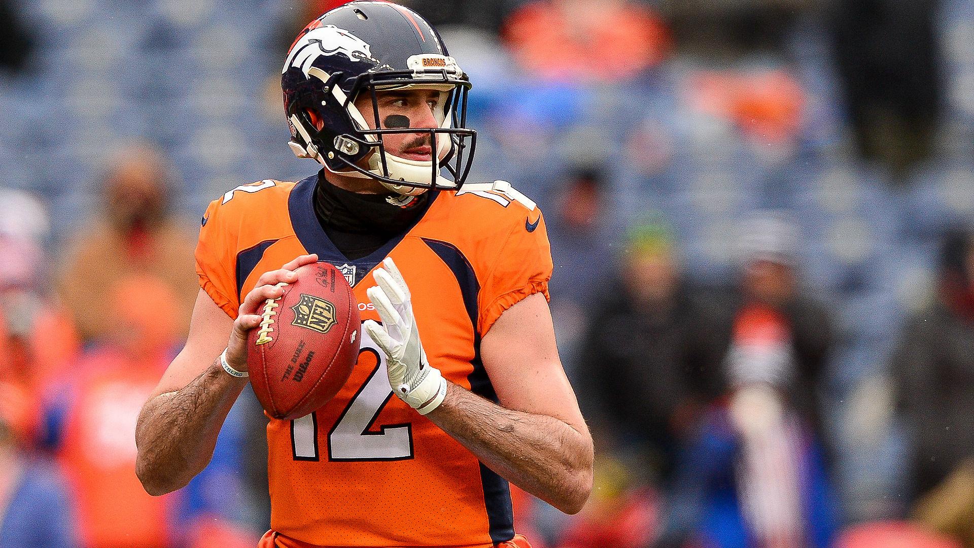 Paxton Lynch demoted to Broncos third-string quarterback after preseason struggles