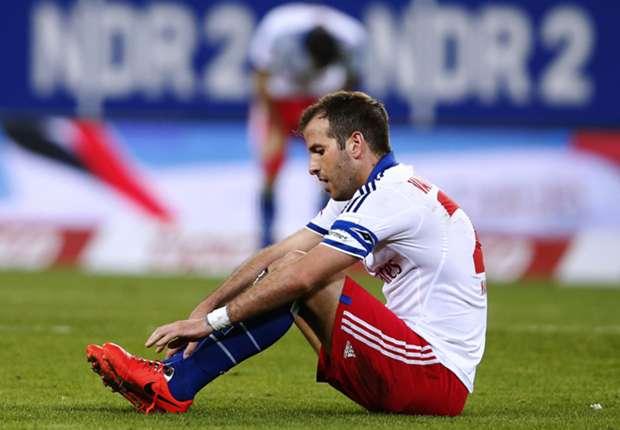 Hamburg midfielder Rafael van der Vaart