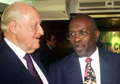Warner lauds Havelange legacy