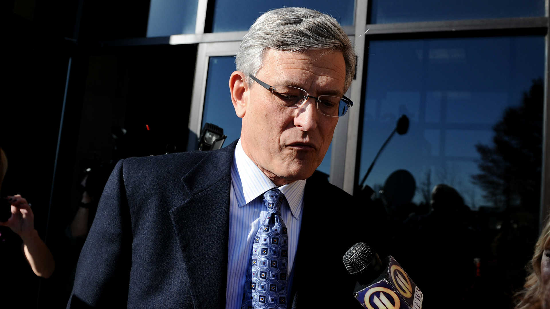 Ex-Penn State AD pleads guilty in abuse case class=
