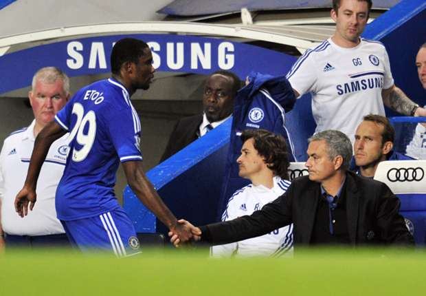 Eto'o: I have no issue with Mourinho