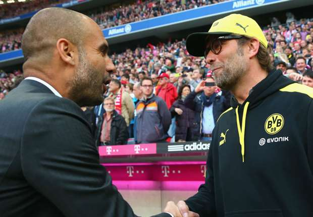 Klopp: Guardiola will want to dominate Premier League