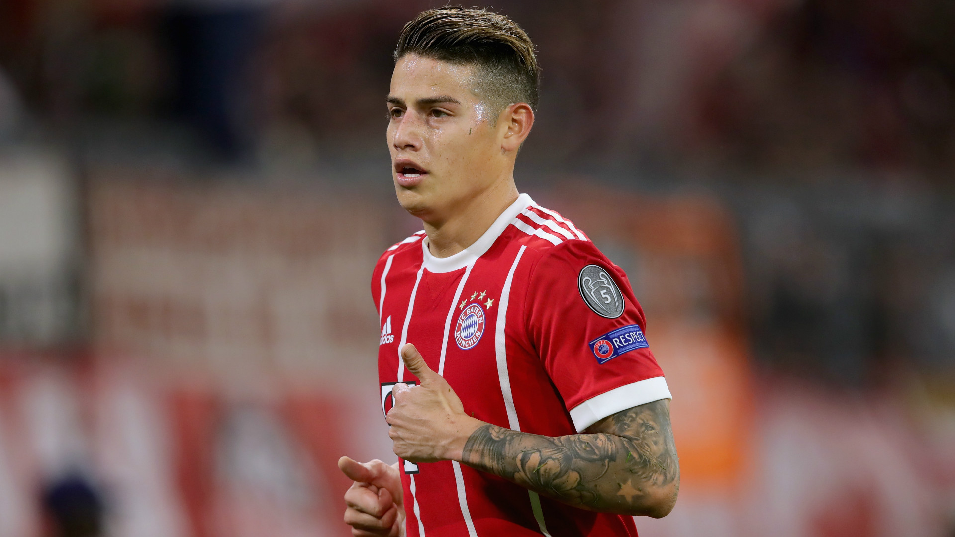 James wants to stay at Bayern Munich after change of perception