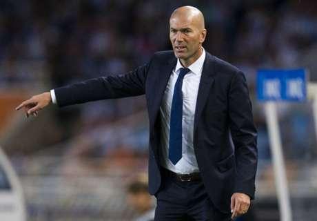Zidane blasts 'absurd' transfer ban