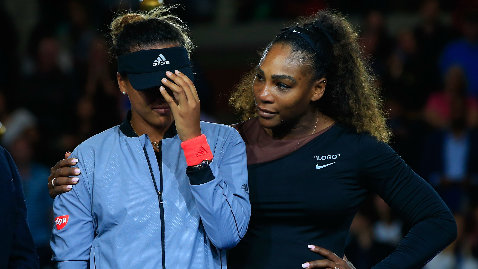 Naomi Osaka Serena Williams Cropped