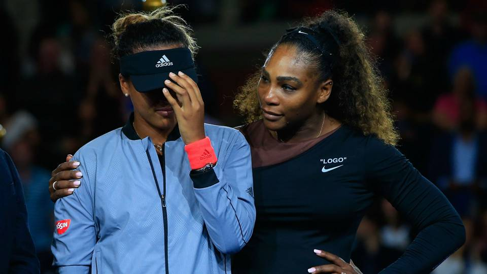 Naomi Osaka Serena Williams - cropped
