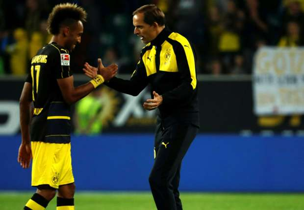 Dortmund boss Tuchel talks of 'relationship of trust' with Aubameyang