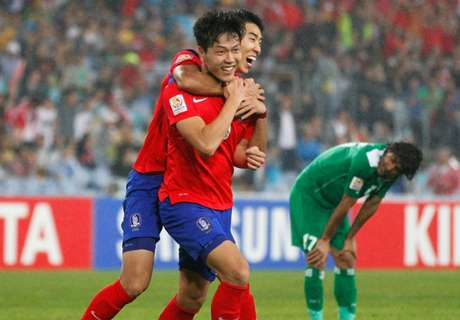 South Korea 2-0 Iraq: Semifinal win