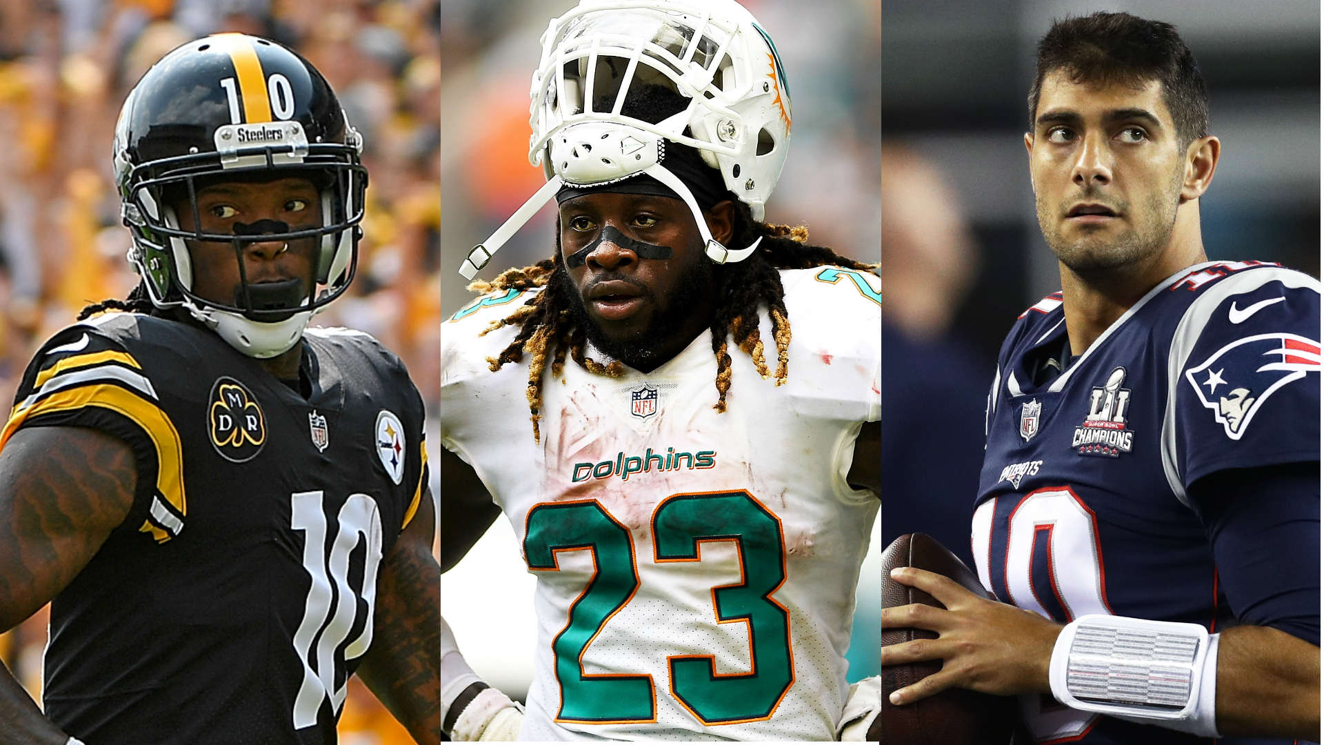 NFL trade deadline: Who's on the move, who stayed put