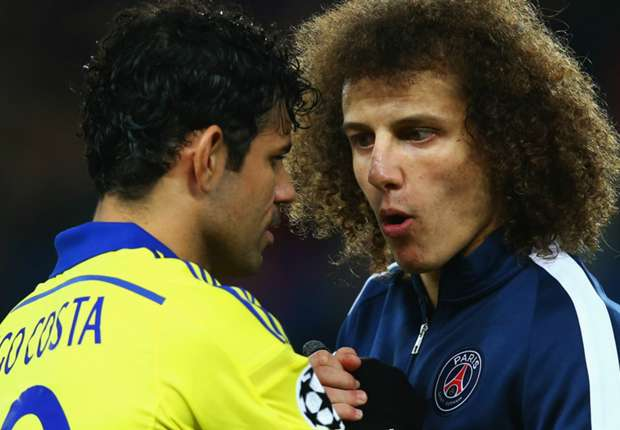 Costa welcome at PSG - David Luiz