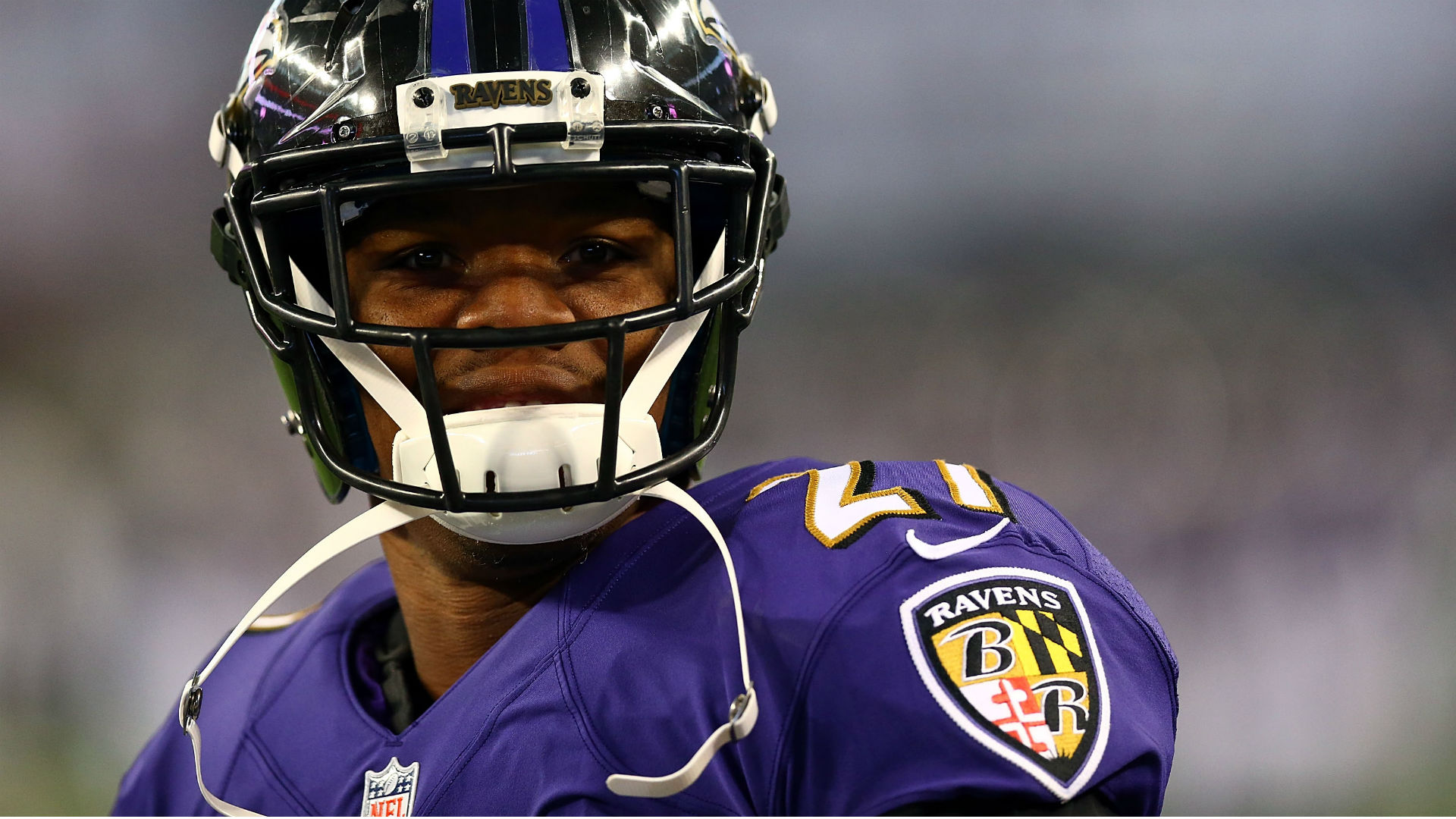 Former Ravens running back Ray Rice