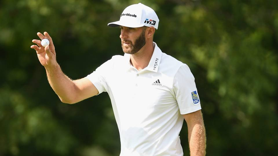 RBC Canadian Open: Dustin Johnson shares lead after 65