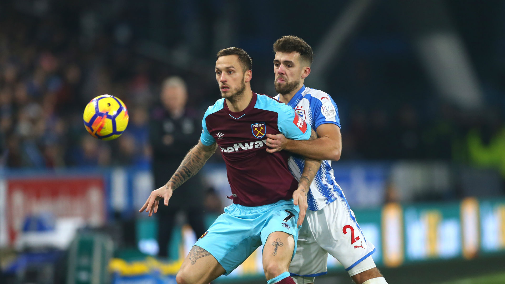 Lanzini, Arnautovic inspire West Ham win at Huddersfield