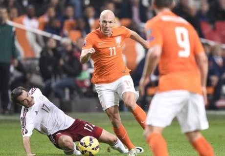 Netherlands 6-0 Latvia: Dutch coast