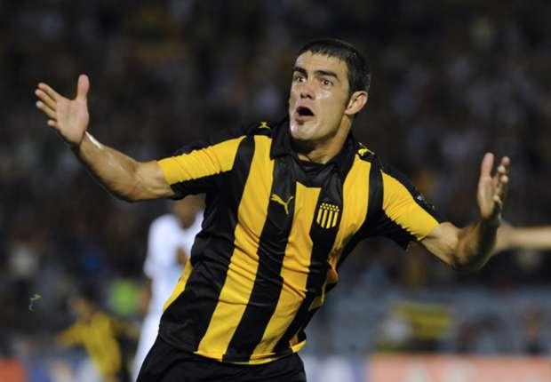 Luis Aguiar provocó el gol en contra que le dio el triunfo a Peñarol