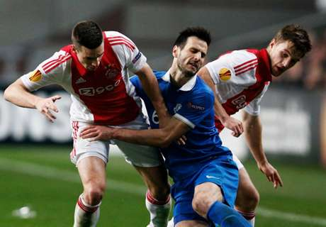 Ajax 2-1 Dnipro: Dutch side ousted