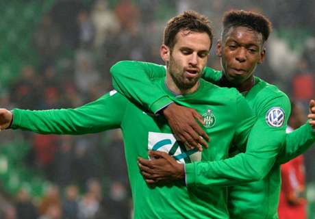 Saint-Etienne 2-1 Ajaccio: Host through