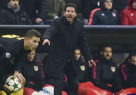 Aggressive Atletico please Simeone