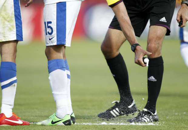 Blatter: Vanishing spray to be used at World Cup