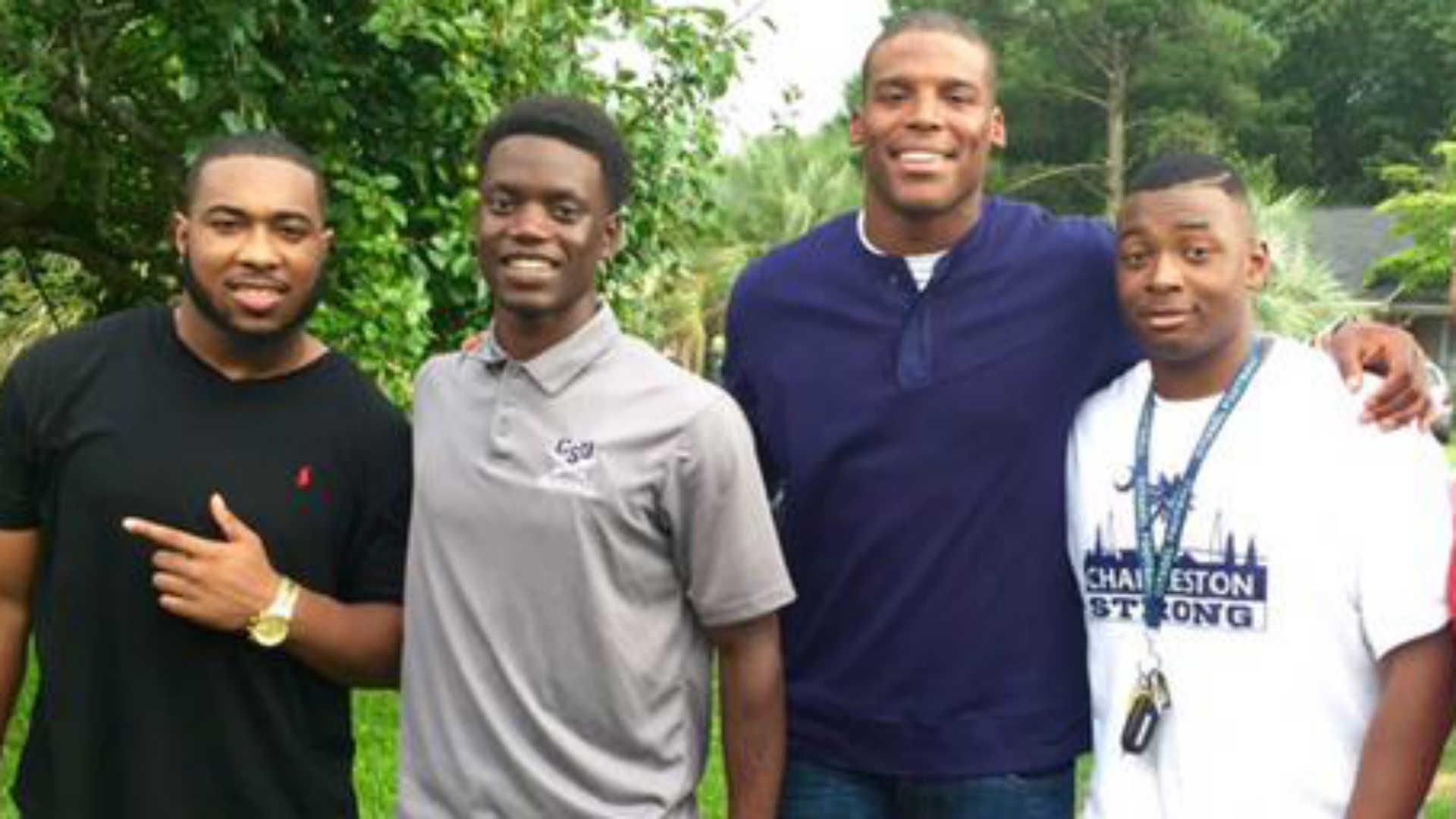 Cam Newton visits