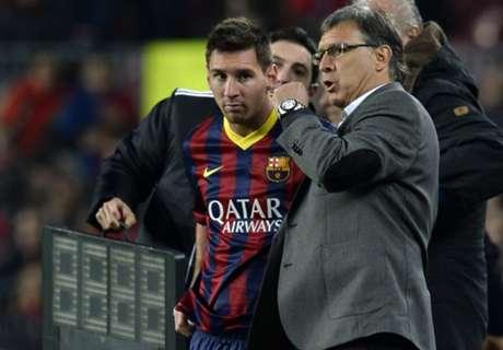 Messi y Martino, de 1995 hasta hoy