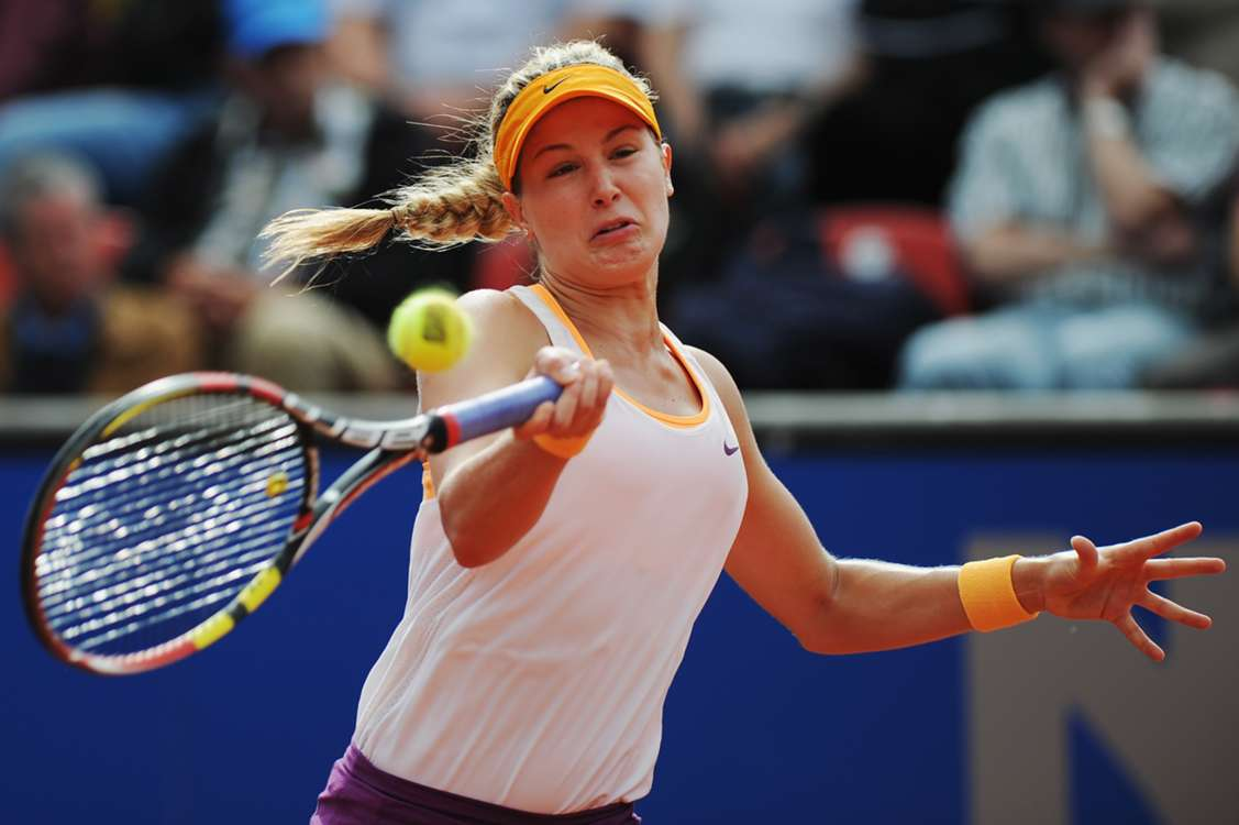 Bouchard clinches first WTA title