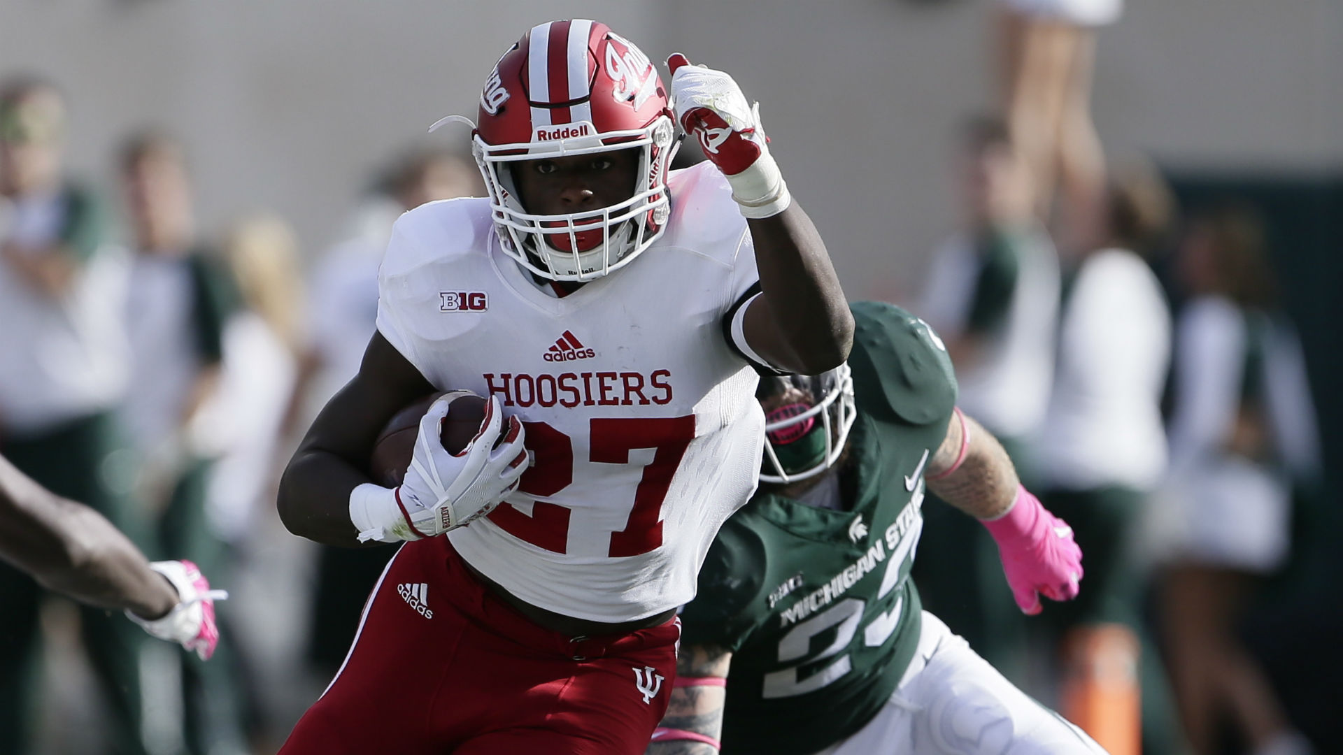 Indiana RB Morgan Ellison handed lengthy suspension for sexual assault, report says