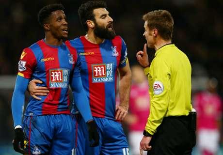 Pardew criticises referees