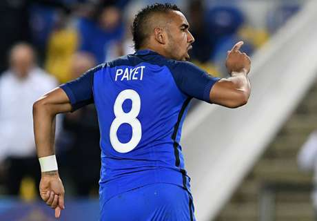 Payet revels in winning free-kick