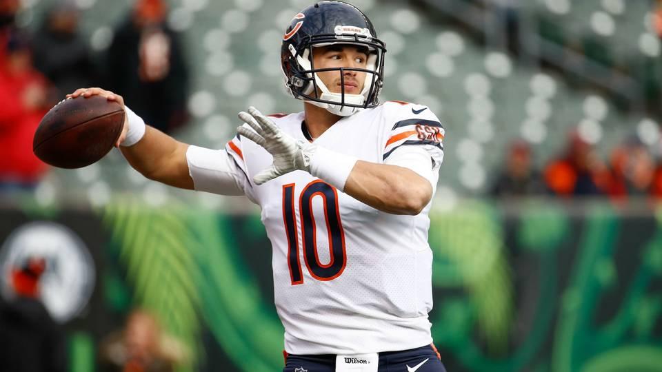 7d125a639 Mitchell Trubisky injury update  Bears unsure if QB will play Week 13 vs.  Giants
