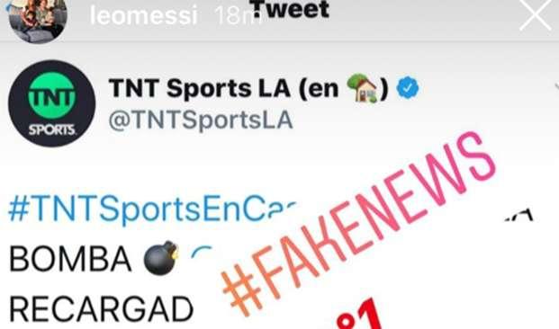 messi fake news