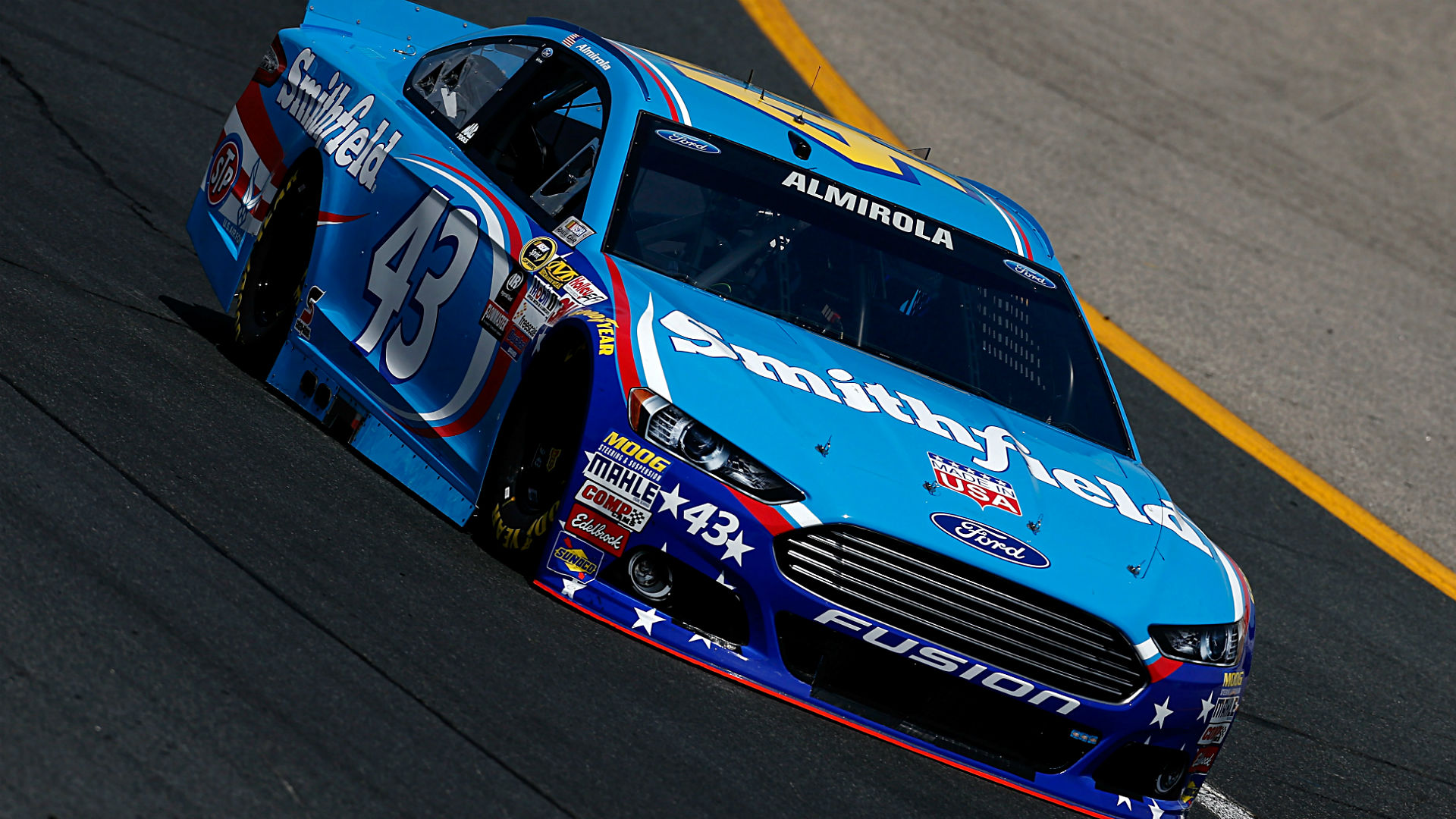 Aric Almirola's explicit warning to Trevor Bayne highlights best in-car audio from Brickyard 400
