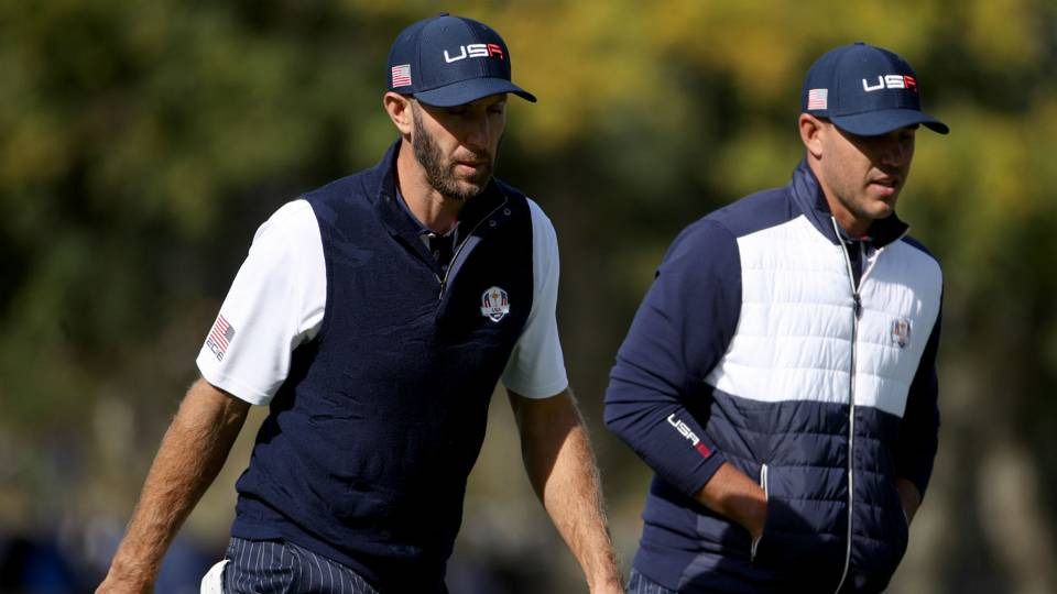 Dustin Johnson, Brooks Koepka reportedly get into fight, have to be separated