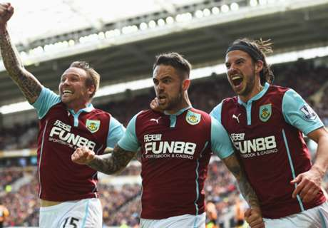 Burnley's 2014-15 full player statistics