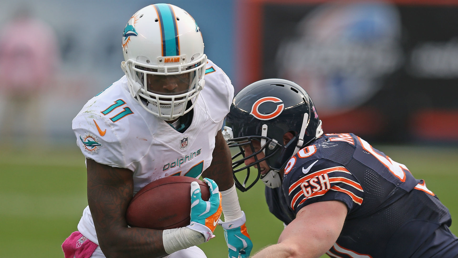 Dolphins receiver Mike Wallace